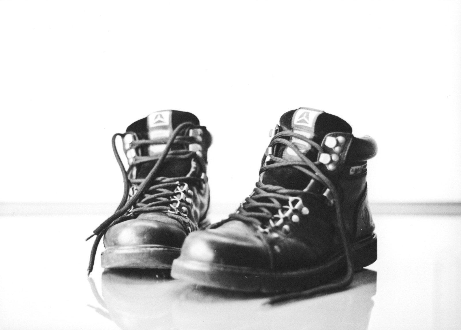 Schuhe machen Leute, oder wie war das?